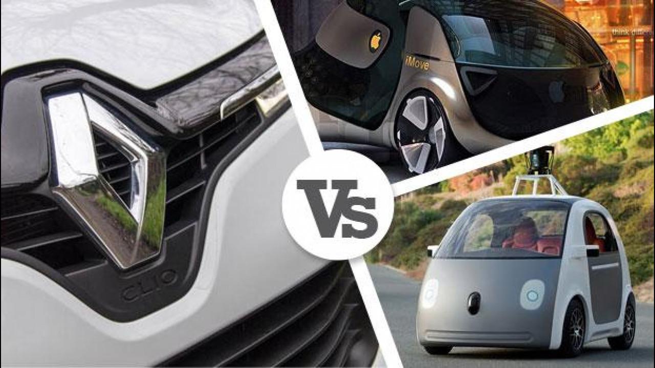 [Copertina] - Per Renault, Apple e Google non saranno costruttori di auto
