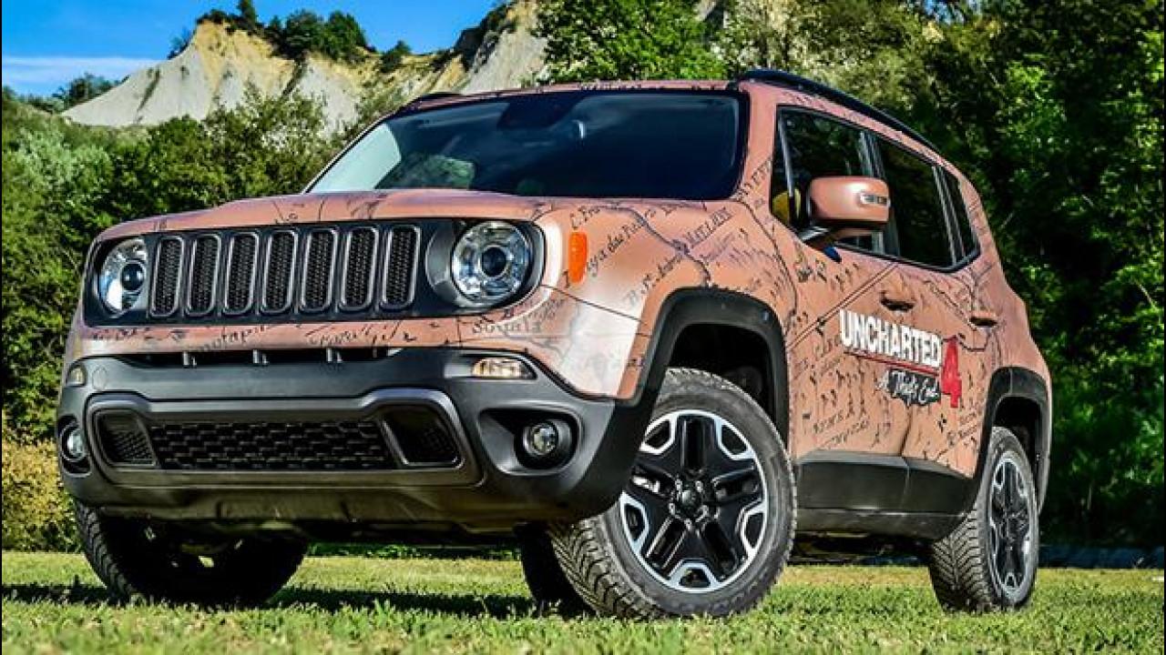 [Copertina] - Jeep Renegade per Uncharted 4 è più unica che rara