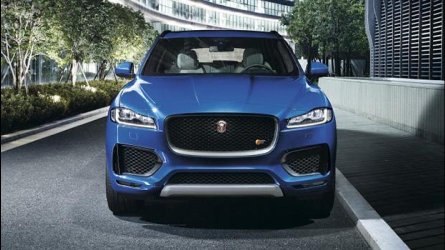 Jaguar, in arrivo un SUV elettrico nel 2017