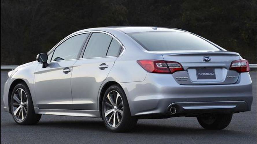 Nuova Subaru Legacy,  antipasto a Chicago