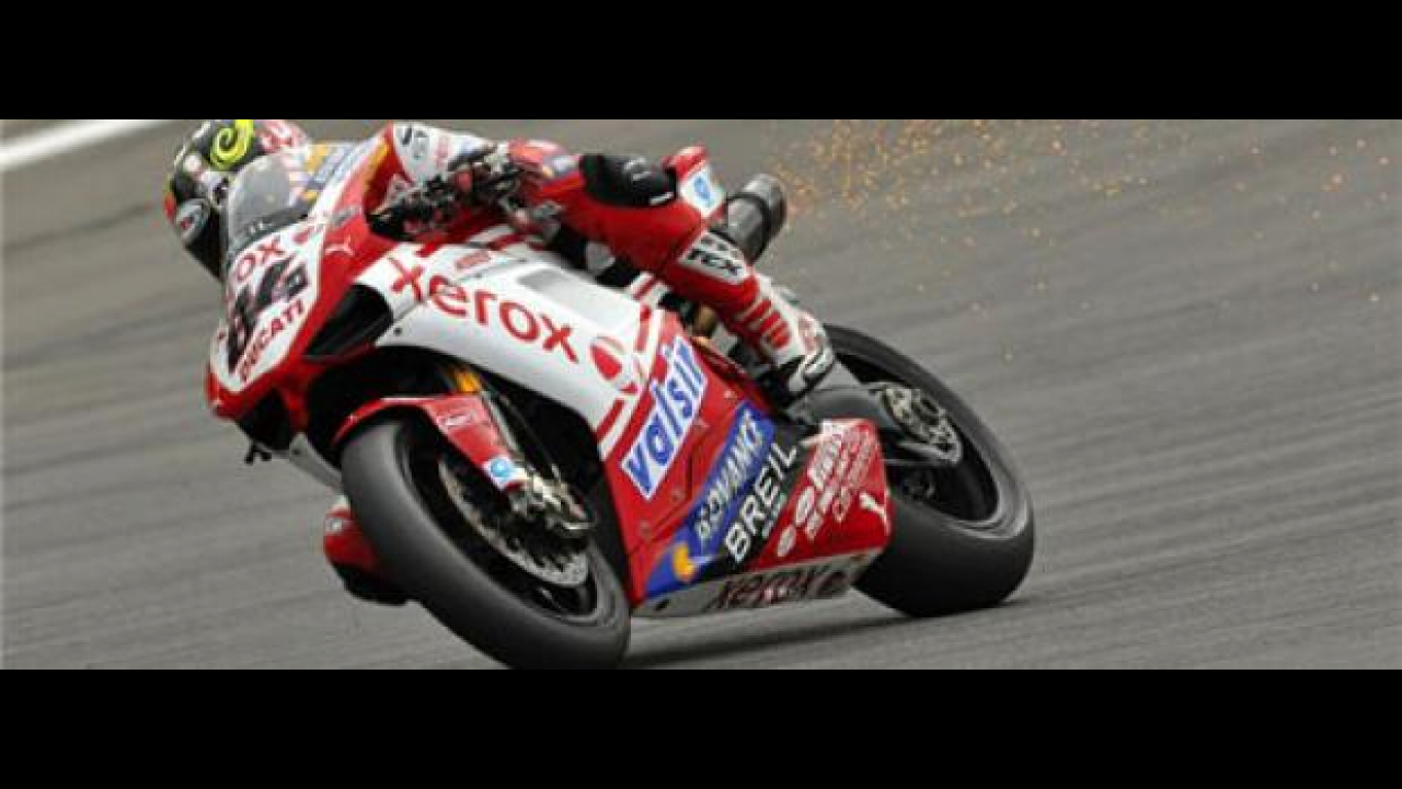 WSBK 2009: Haga perde la leadership al 'Ring