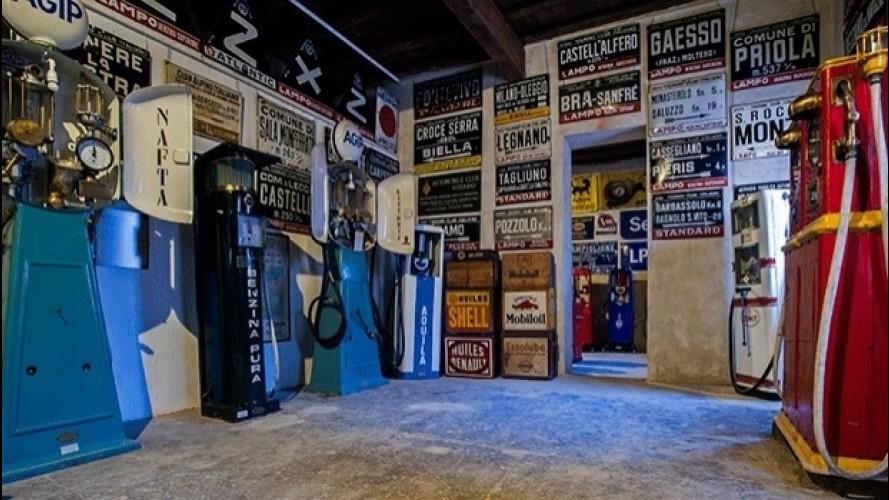 Museo Fisogni, il Guinness delle pompe di benzina è in Italia