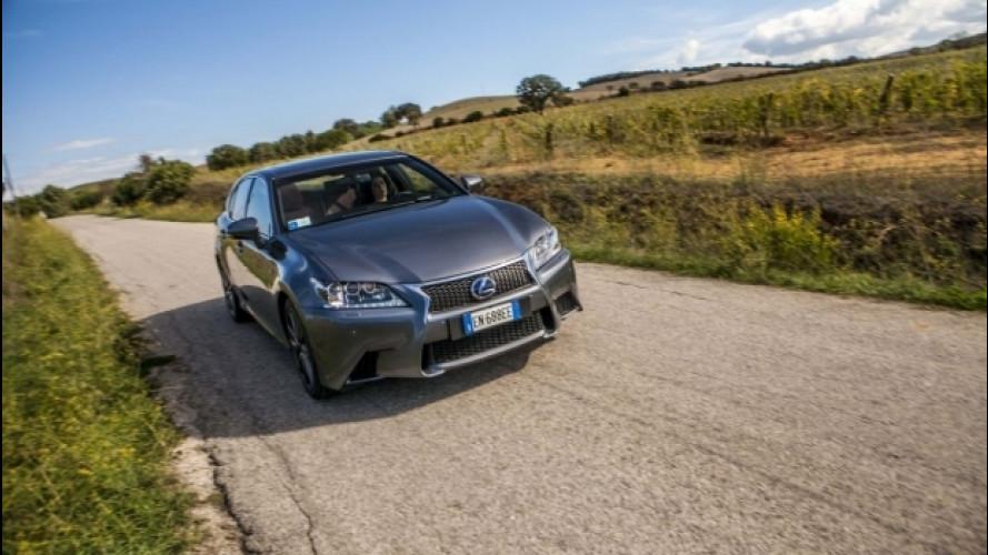 Dal Monte Amiata all'Argentario - Lexus GS 450h