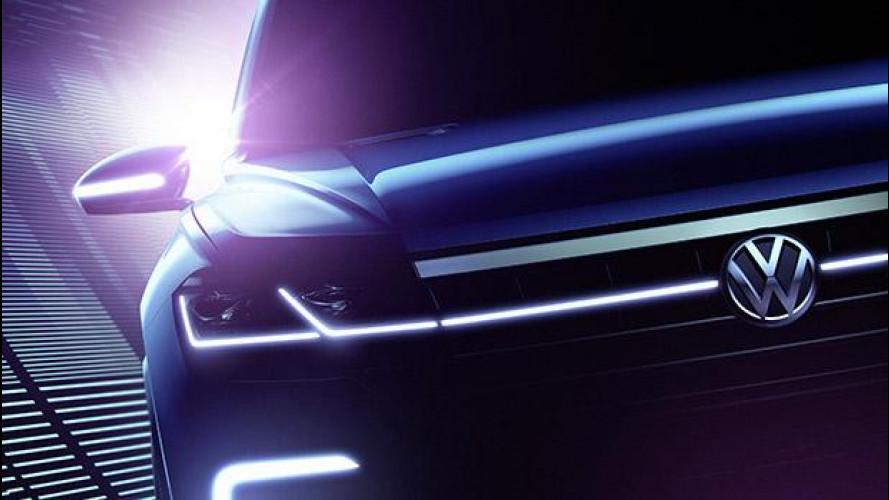 Volkswagen Beijing Concept Car, prove di nuova Touareg