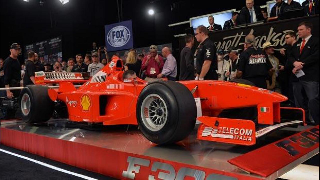 [Copertina] - Michael Schumacher: 1,7 milioni di dollari per la sua Ferrari