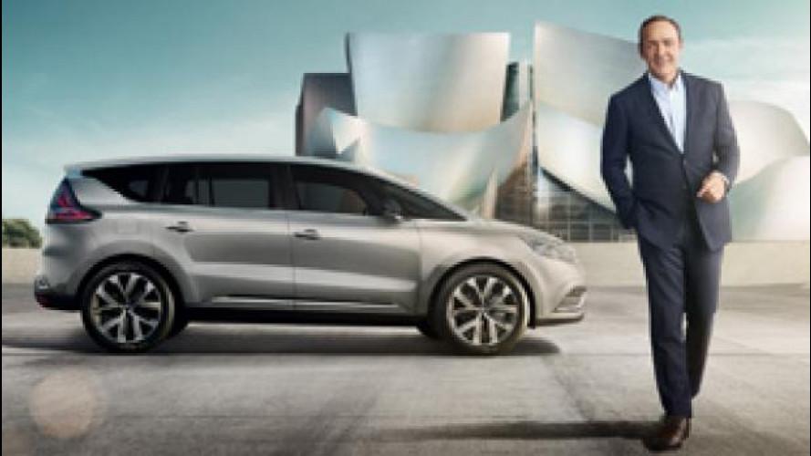 Il nuovo Renault Espace ha il volto di Kevin Spacey