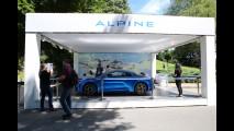 Alpine a Parco Valentino 2017