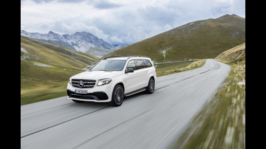 Nuova Mercedes GLS, ammiraglia 7 posti