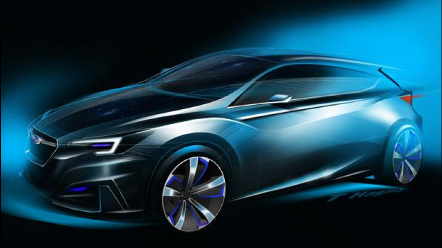 Subaru Impreza, la nuova è già un concept