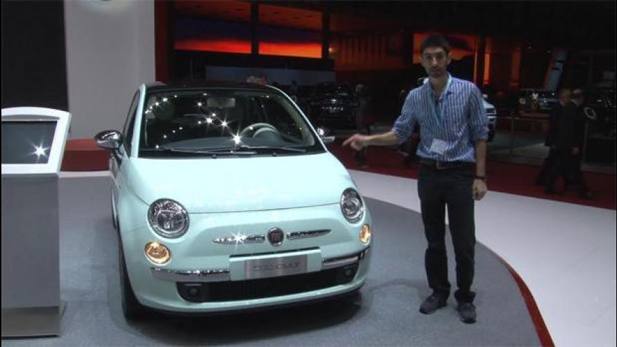 La Fiat 500 a Ginevra ha una nuova strumentazione digitale