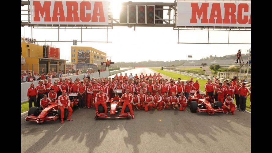 Finali mondiali Ferrari 2009: l'orgoglio di Valencia