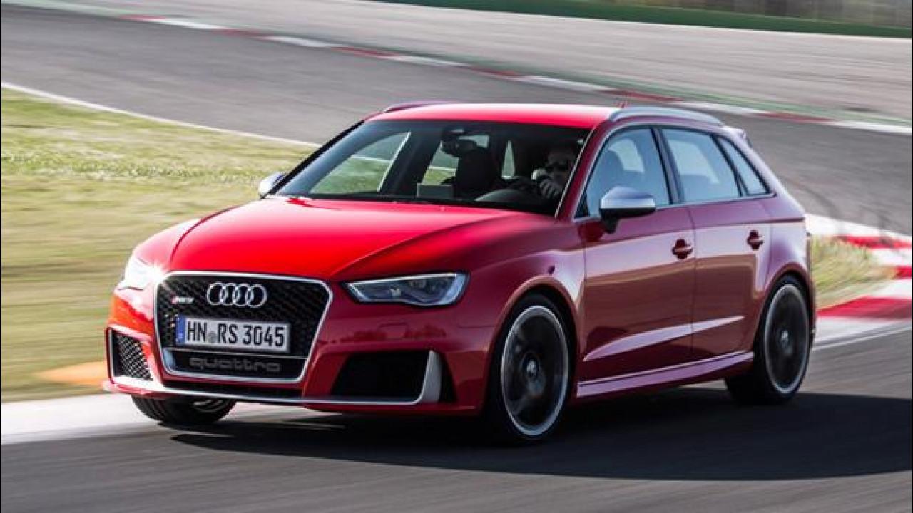 """[Copertina] - Audi RS3 Sportback, un """"Cinque"""" imbattibile"""