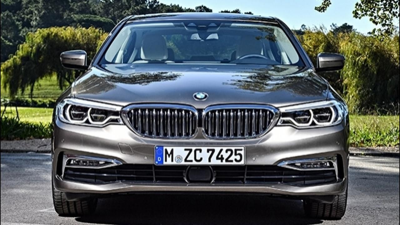 [Copertina] - BMW Serie 5, passo lungo per la Cina