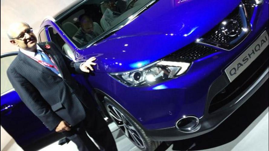 """Nuovo Nissan Qashqai: """"Accessibile e tecnologico"""""""