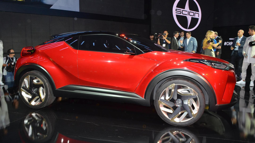 Scion introduces its own C-HR concept in Los Angeles [video]