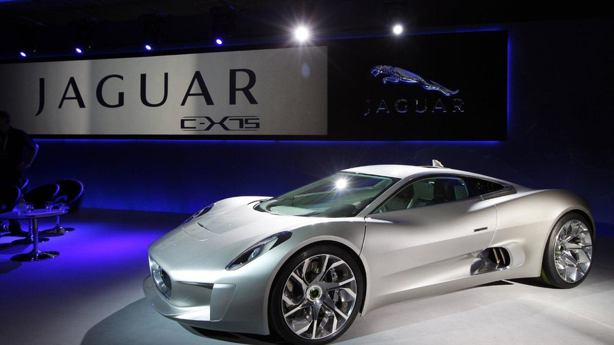 Jaguar confirms C-X75 hybrid supercar production