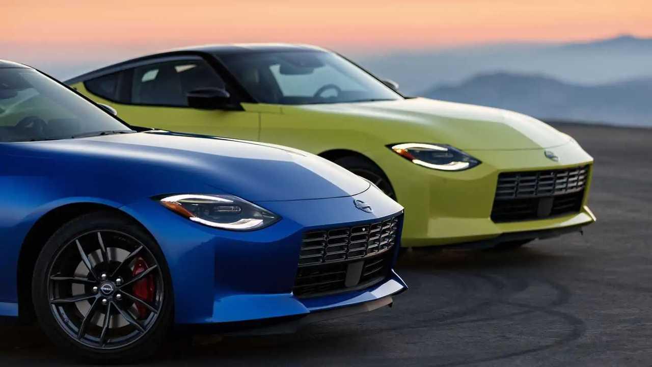 2023 Nissan Z headlights design