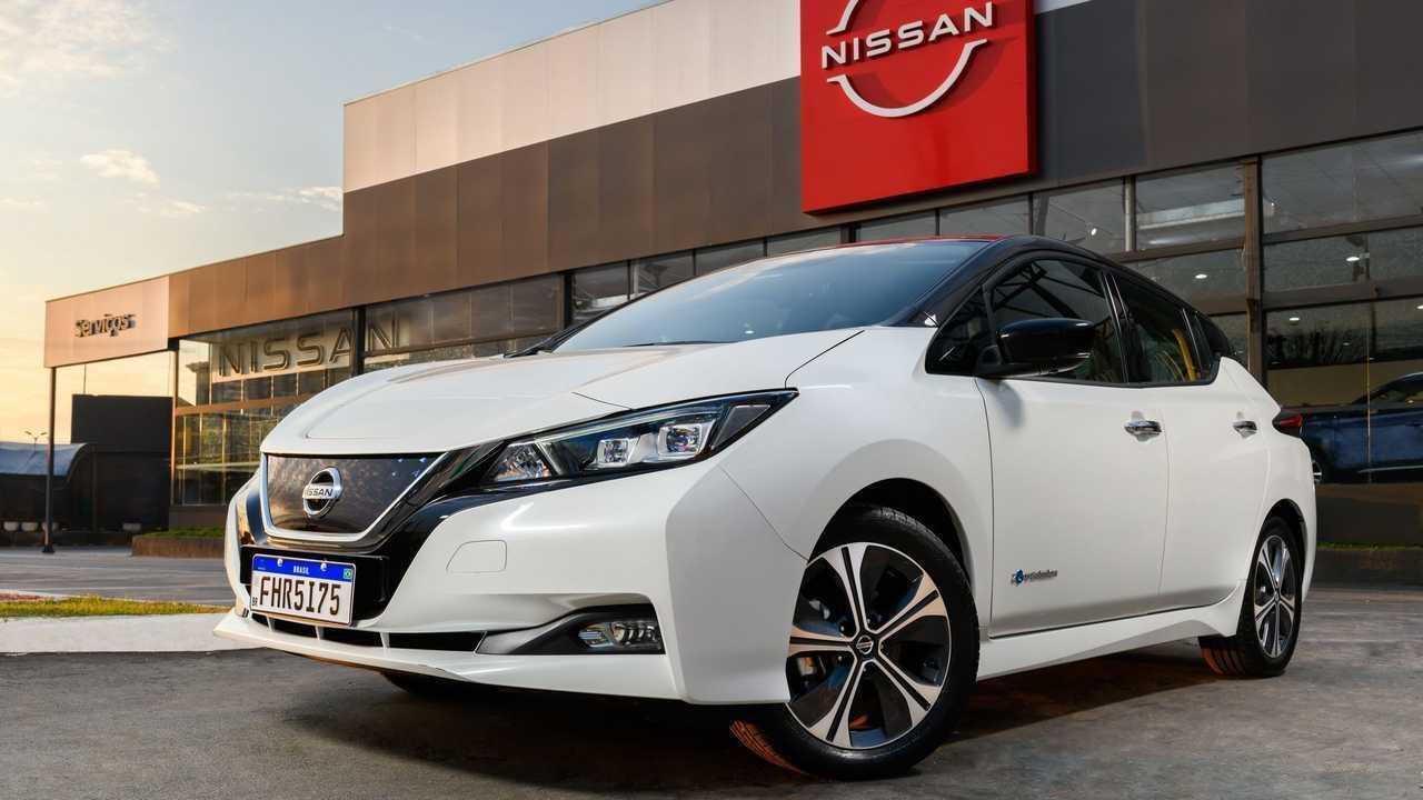 Nissan Leaf concessionária - Brasil