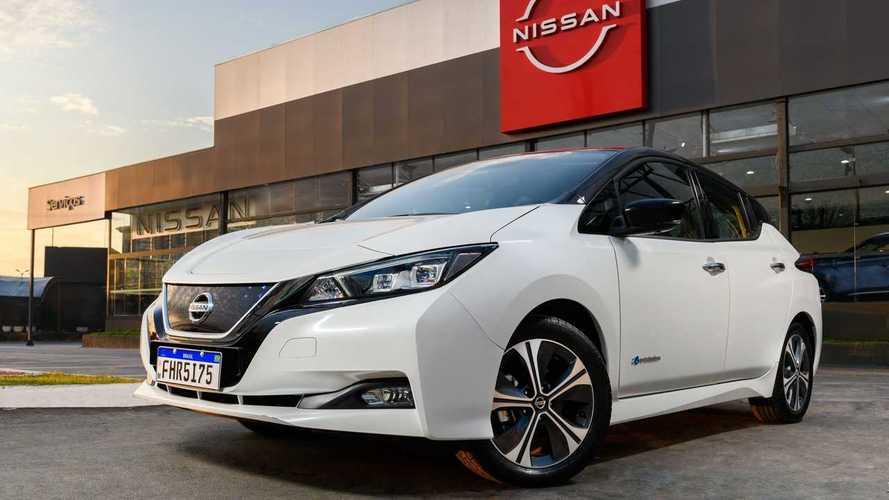 Nissan Leaf passa a ser vendido em todas as regiões do Brasil
