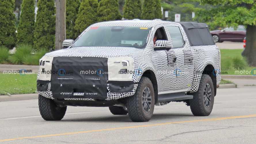 Ford Ranger Raptor LHD spied in the United States