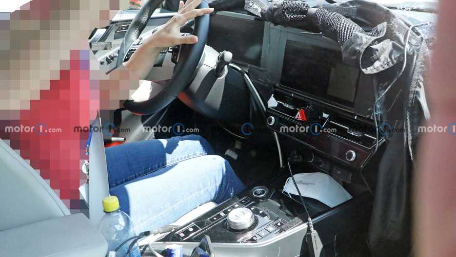2022 Kia Niro spied inside and out
