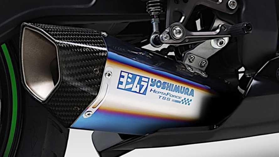 Yoshimura Jepang Rilis Knalpot Racing untuk Kawasaki ZX-25R