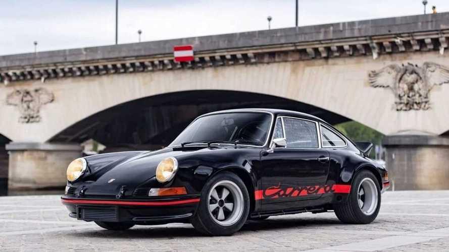 Árverésre bocsátják az egyik ritka és rendkívül értékes Porsche 911 2.8 RSR-t