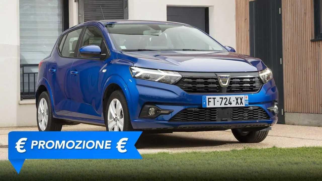 Promozione Dacia Sandero Streetway