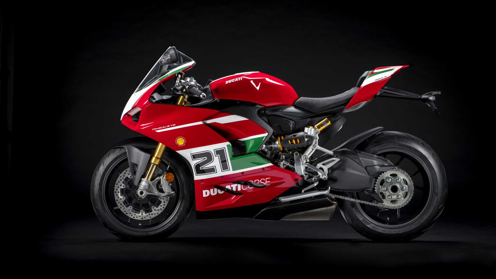 Ducati Panigale V2 Bayliss 1st Championship 20th Anniversary Edition - Left Side