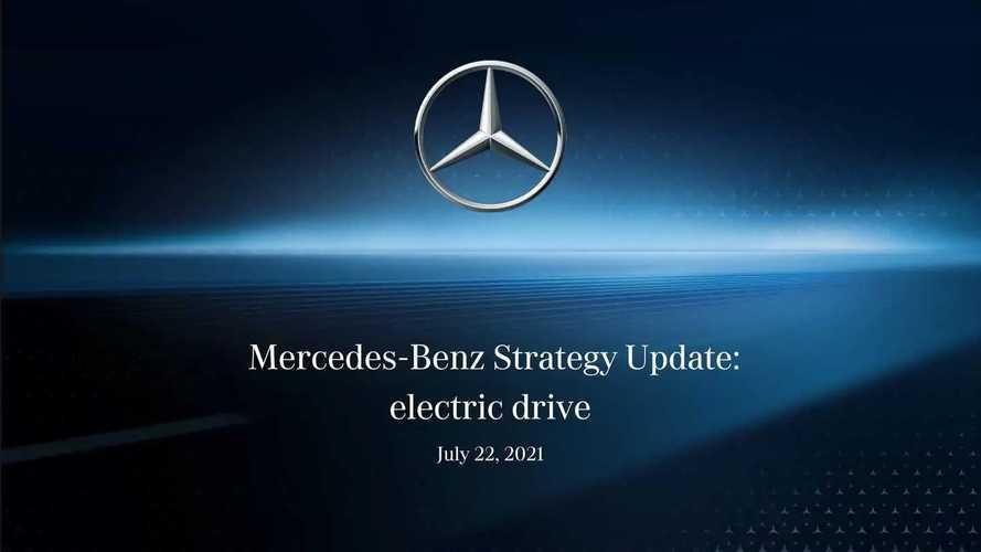 Mercedes Strategy Update: electric Drive (22. Juli 2021)