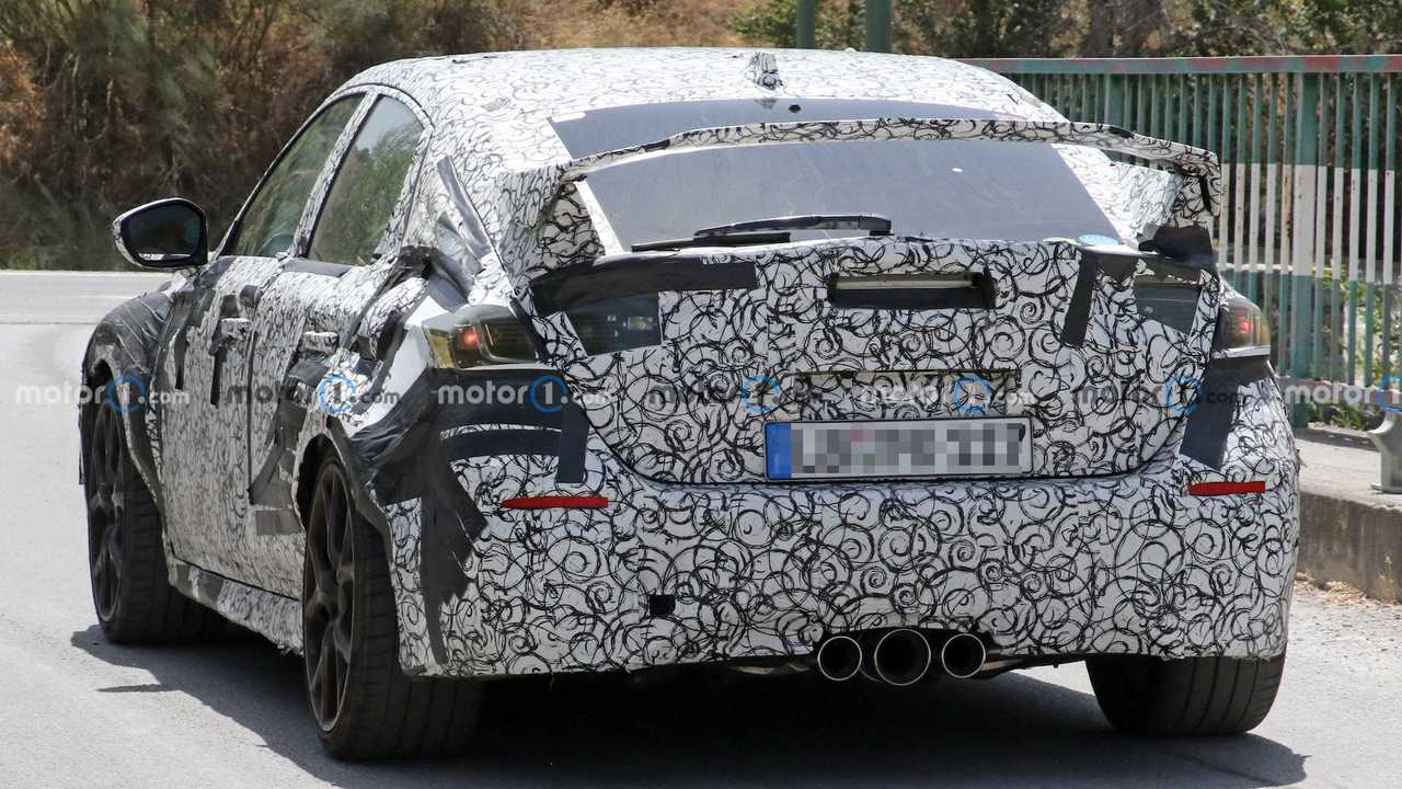Honda Civic Type R Spied In Europe