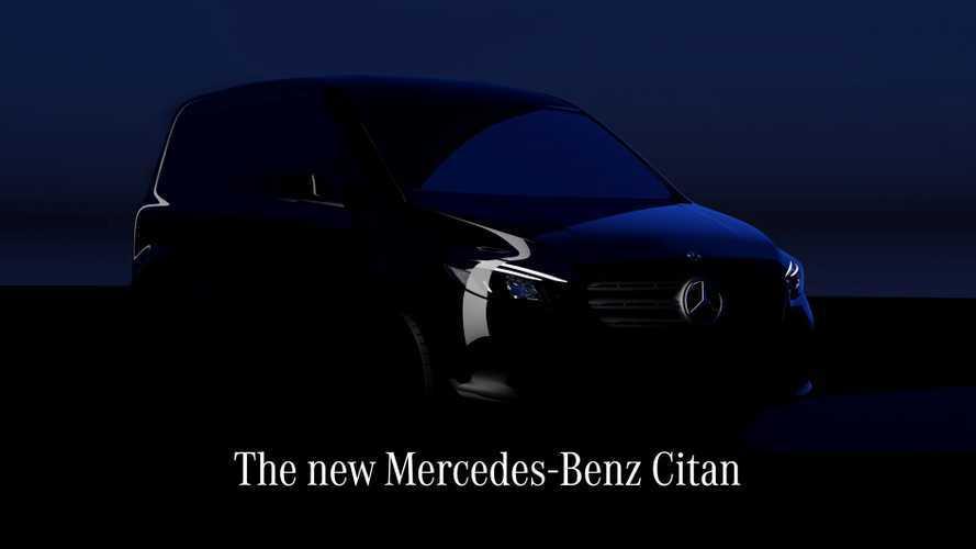 Mercedes-Benz Citan, anteprima mondiale il 25 agosto 2021