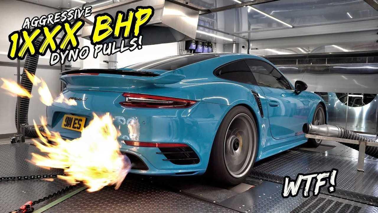 Испытания на динамометрическом стенде форсированного 911 Turbo S