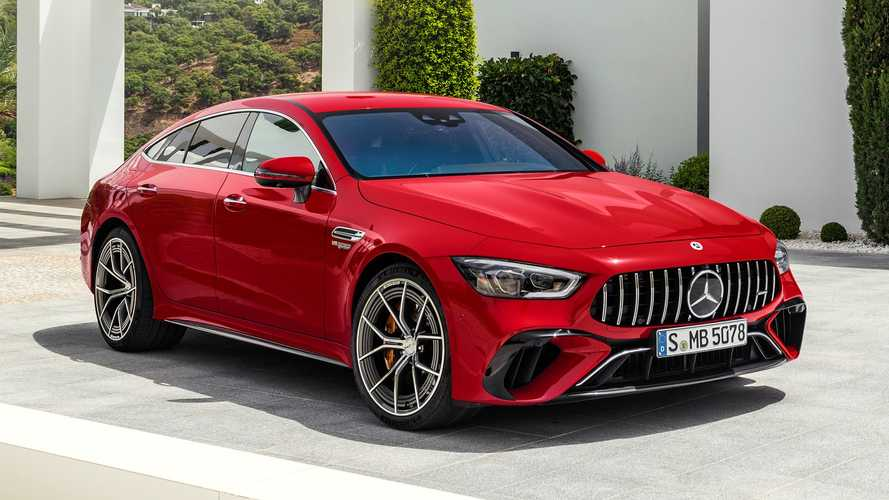 Mercedes-AMG GT 63 S E Performance Revealed: An 831-HP Plug-In Hybrid