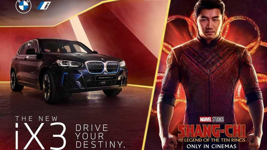 BMW iX3 estreia nos cinemas com o novo filme da Marvel Studios