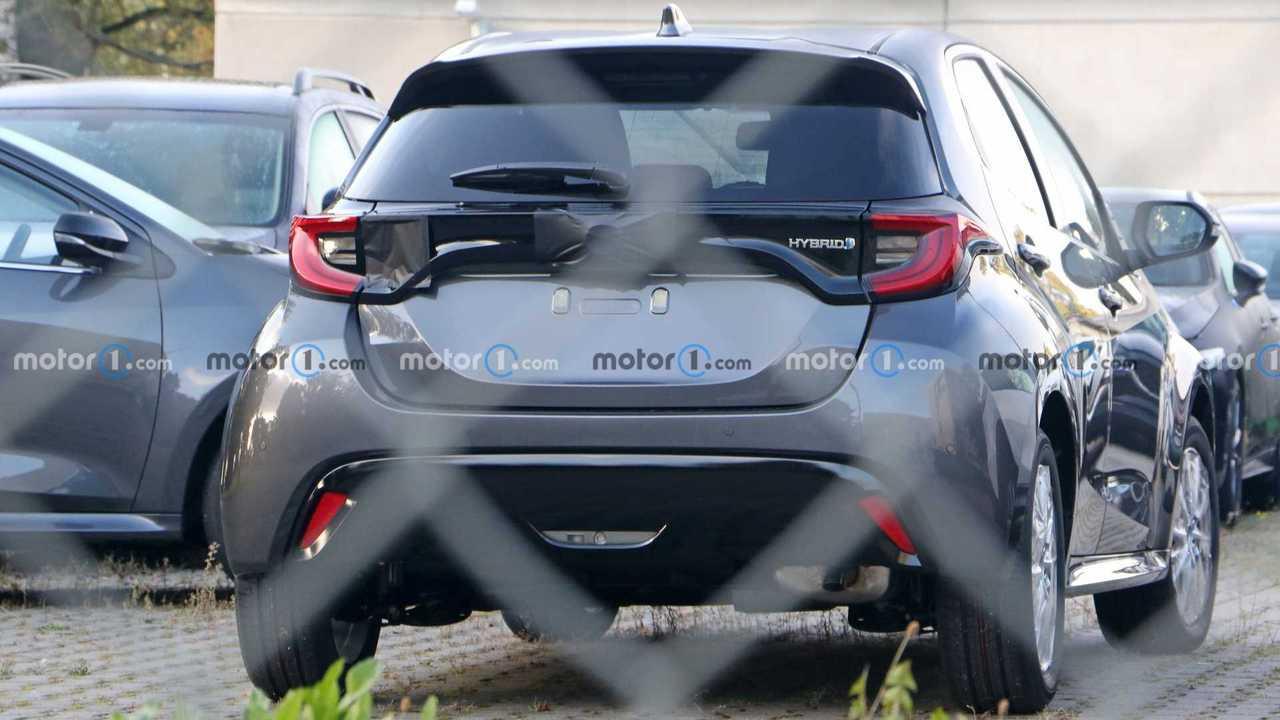 2022 Mazda2 spy photo