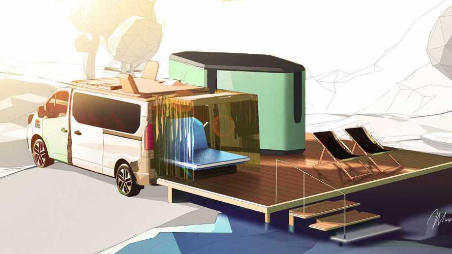 Renault Hippie Caviar Hotel: ¿la furgoneta camper del futuro?