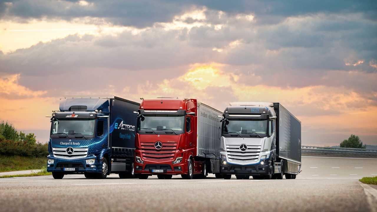 Mercedes-Benz Trucks, il futuro sostenibile