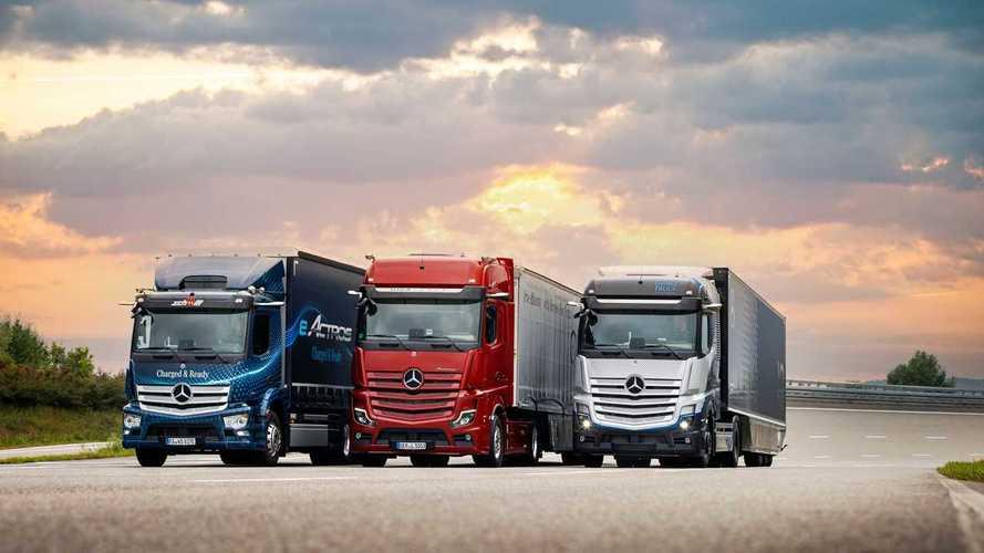 Mercedes-Benz Trucks, avanti tutta sulla mobilità sostenibile