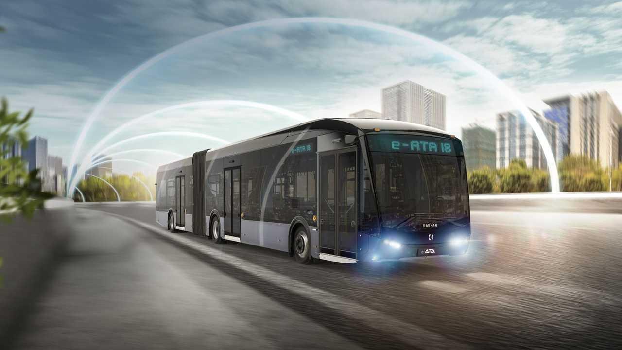 Bus elettrico Karsan e-ATA 18 metri
