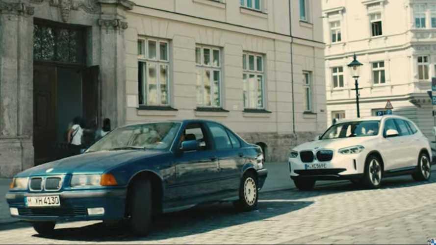 BMW Service Ad Shows iX3 Electric SUV Is A Terrible Getaway Car