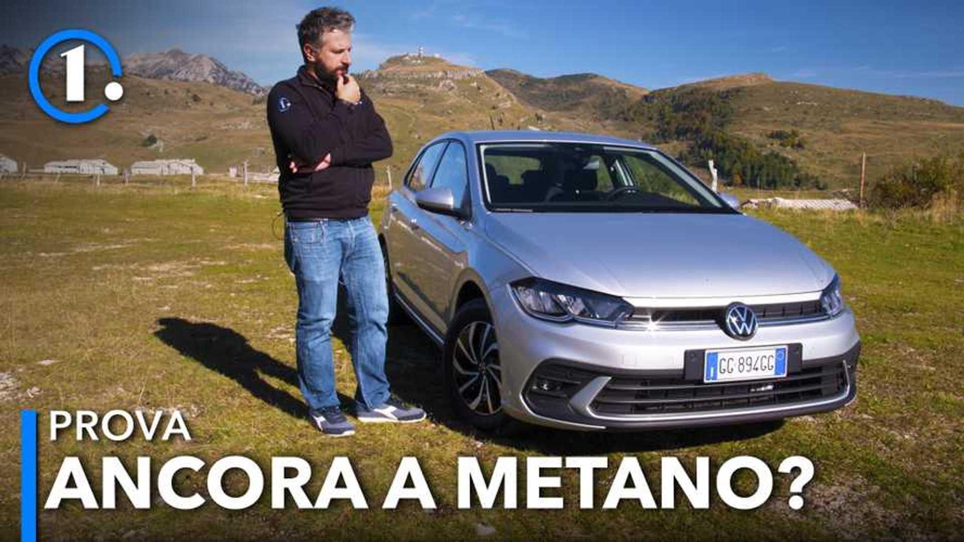 Volkswagen Polo, la prova del restyling a metano