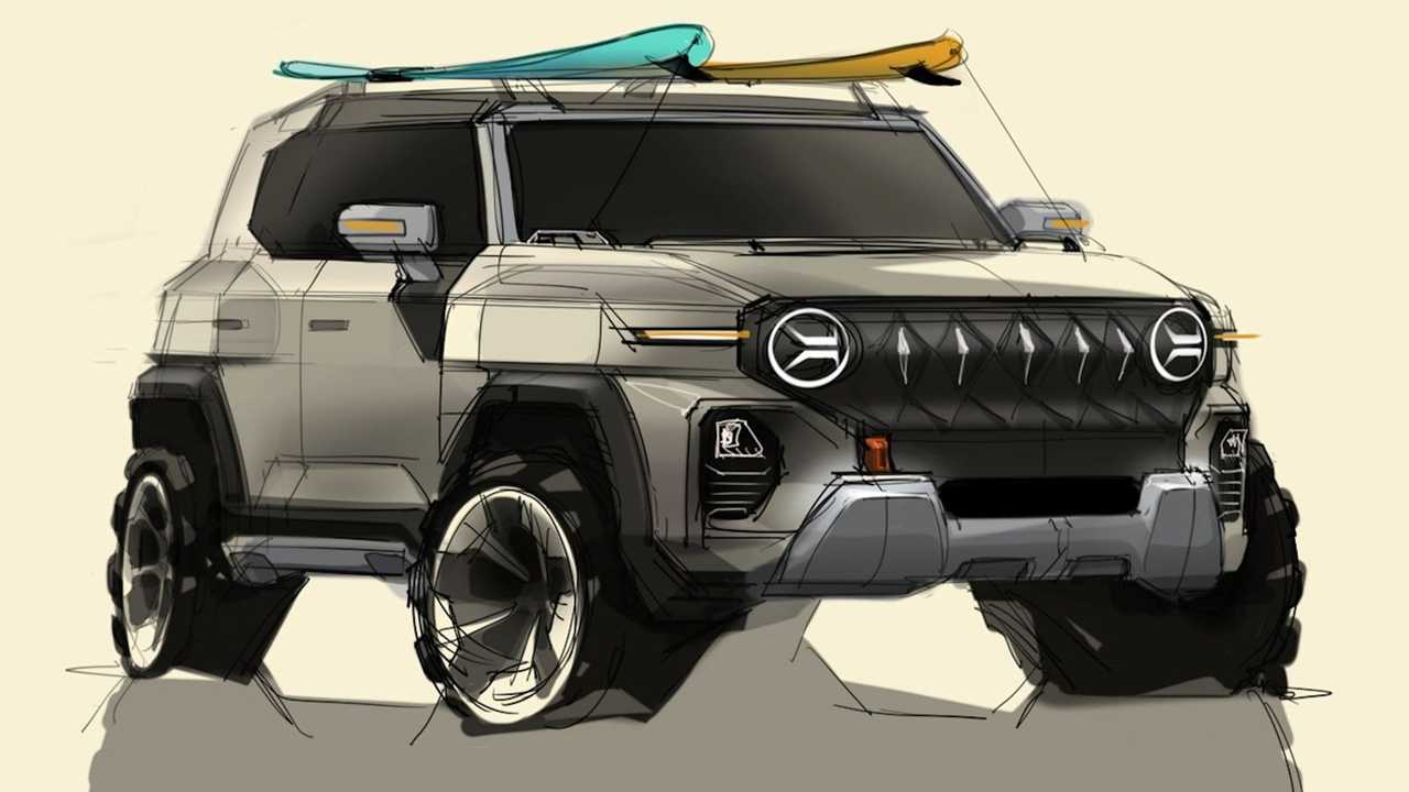 SsangYong X200 previews the design direction of the next-gen SUV.