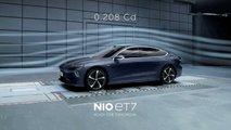Nio ET7 erreicht mit cW-Wert von 0,208 fast den Rekordwert