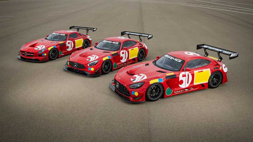 """Mercedes-AMG """"50 Years Legend of Spa"""" One-Off Race Cars"""