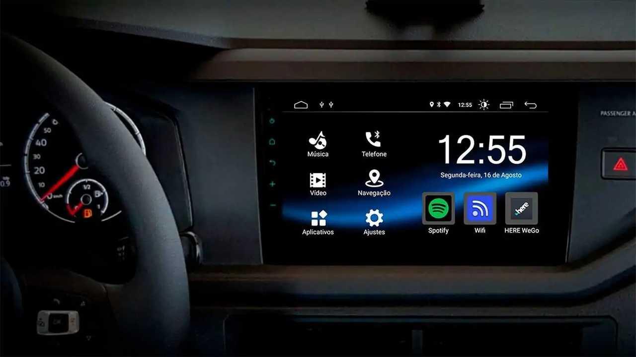 Nova Multimídia Android de 10