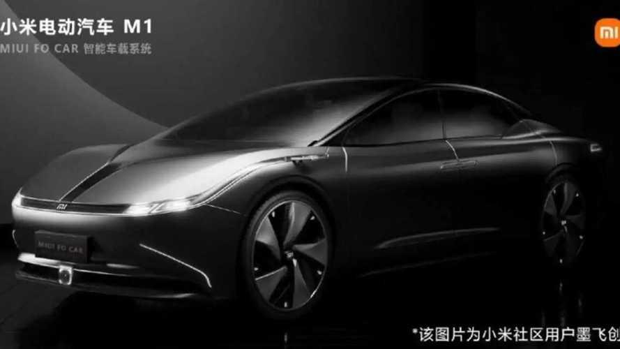 Xiaomi показал рендеры своего автомобиля: оказалось, это плагиат