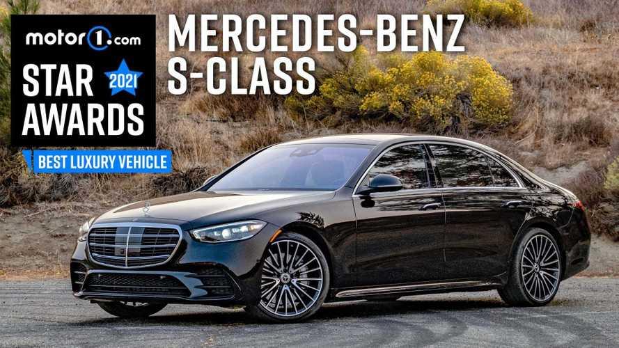 2021 Mercedes-Benz S-Class Wins Motor1 Star Award For Best Luxury Vehicle