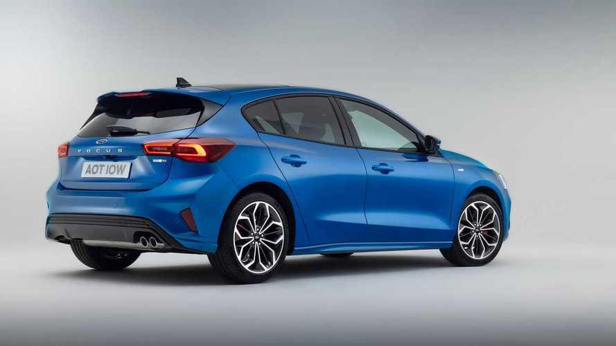 Ford Focus facelift 2022