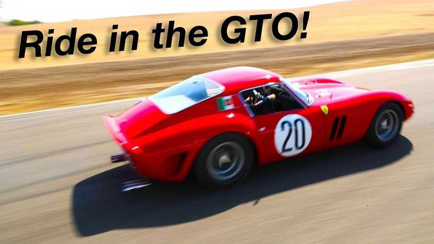 Ride Along In An Original Ferrari 250 GTO At Full Tilt On Race Track